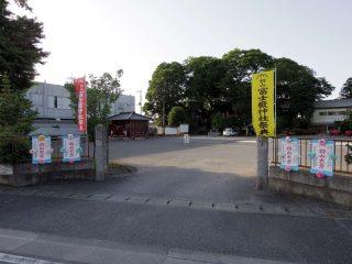 毎年5月31日、6月1日は富士嶽神社の初山大祭