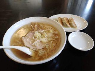 麺屋かねき(松原)うどんのようなつるつる手打ち麺