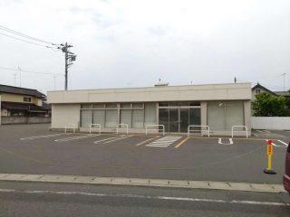 ミニストップ館林西本町店が閉店していた