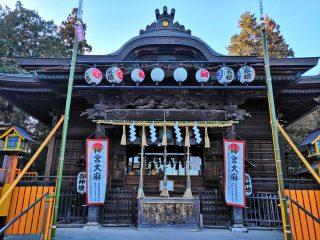 長良神社で節分祭【2019年2月3日】