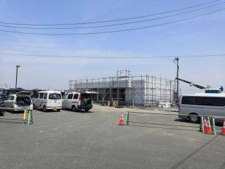『デイリーヤマザキ館林楠店』が東部環状線工事のため店舗移設中
