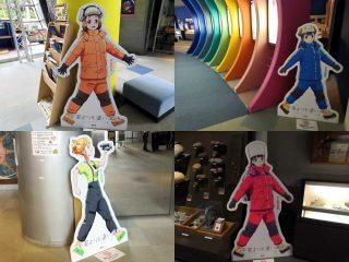 【よりもい】キャラクターパネルが夏休み出張展示でお引っ越し♪