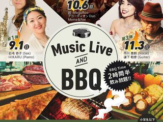 "11月3日はSUGAR HILL CAFEで ""MusicLive AND BBQ""!!"