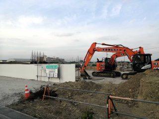羽生市122号沿いで進行中の商業施設群開発状況を見てきた