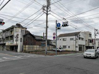 大辻交差点(2020年5月22日)
