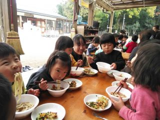 邑楽館林の「百年小麦」で作った「百年饂飩」を地域の子どもたちに振る舞いたい!プロジェクトスタート!