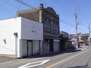 《看板建築》旧丸山本店が解体中【変わりゆく館林の街並み】