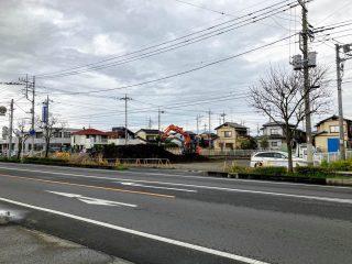 【更新】5号道路「サイゼリヤ館林瀬戸谷店」跡地で工事が始まっている